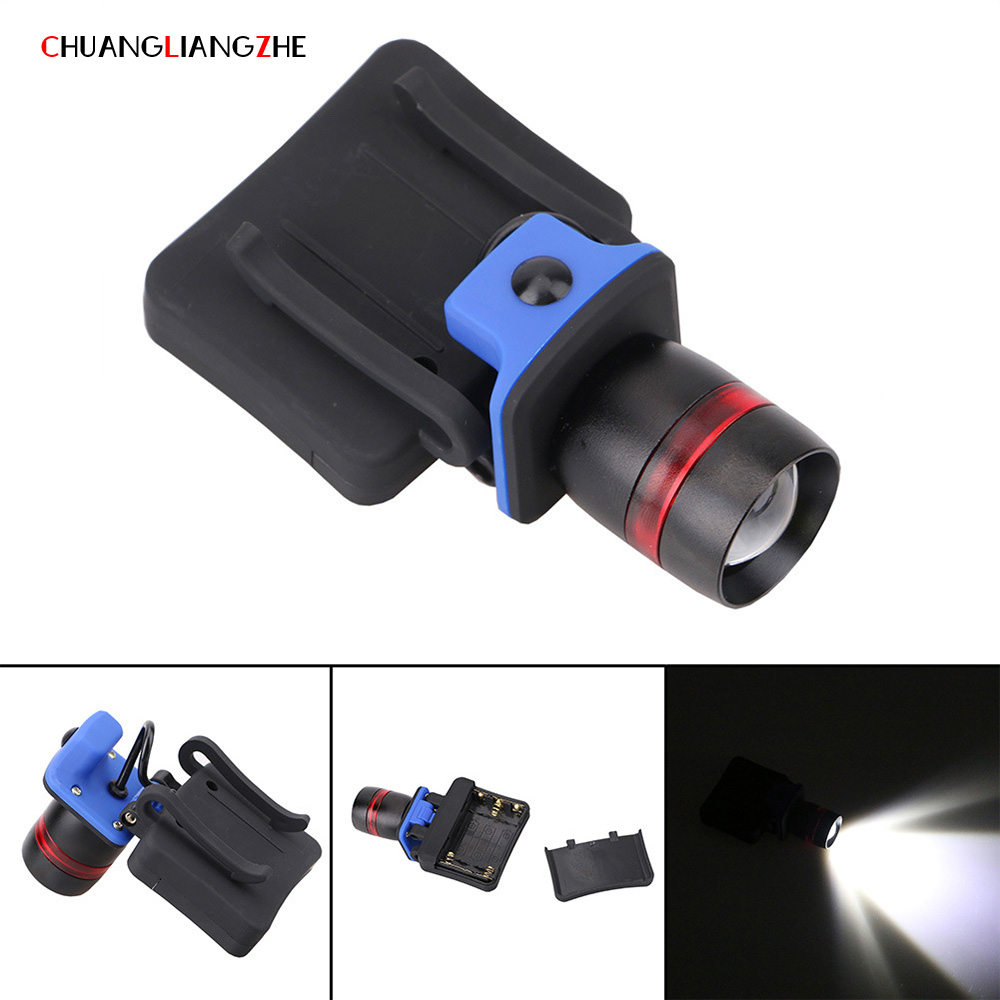 CHENGLIANGZHE Hunting HeadlampAAA Battery Rotating Zoom Adjust LED Flashlight Strong Light Cap Chuck Light Headlight Luminarias