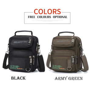Image 3 - 3707W  Men Messenger Running Bags Casual Multifunction Small Travel Bags Waterproof Shoulder Waist Packs Military Crossbody Bags