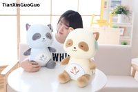 stuffed toy large 45cm cartoon raccoon plush toy raccoon very soft cotton doll throw pillow toy birthday gift s0819