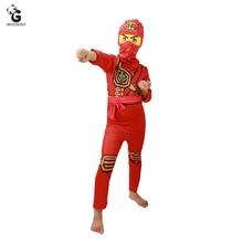 Ninjago Costume Kids Jumpsuits Ninja Halloween Costumes for Christmas Fancy Party Dress Girls Part Cosplay