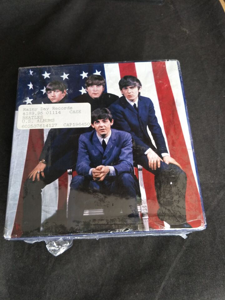 The Beatles - The U.S. Albums USA Original 13CD SEALED BOX SET (LIMITED EDITION) touchstone teacher s edition 4 with audio cd