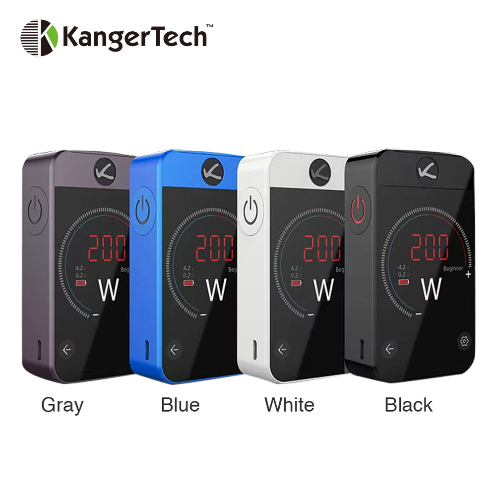 Original Kangertech Pollex 200W Touch Screen TC MOD Built-in 3500mAh Battery Max 200W Output Pollex MOD Vape Vs CUBOID PRO Mod электронная сигарета kangertech arymi ivod стальная