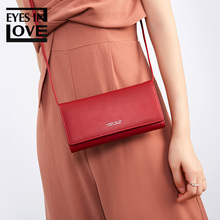 Multi-functiona Small Shoulder Bag & Clutch For Ladies Phone Purse Brand Designer Leather Female Crossbody Messenger Women