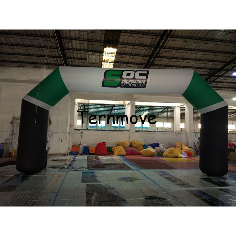 inflatable start arch giant gate archway door for outdoor big event race game inflatable entrance arch race events finsh line free shipping 6m 20ft 4 legs inflatable arch inflatable start finish line racing arch with blower