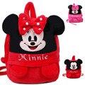 Alta qualidade adorável Mickey Minnie crianças saco shool mochila mochila crianças mochila de pelúcia para 3-7 anos de idade