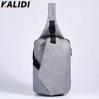 KALIDI Unisex Functional Multilayer Bag Cool Casual Chest Bag Pack Laptop Tablet Fashion Shoulder Bags For