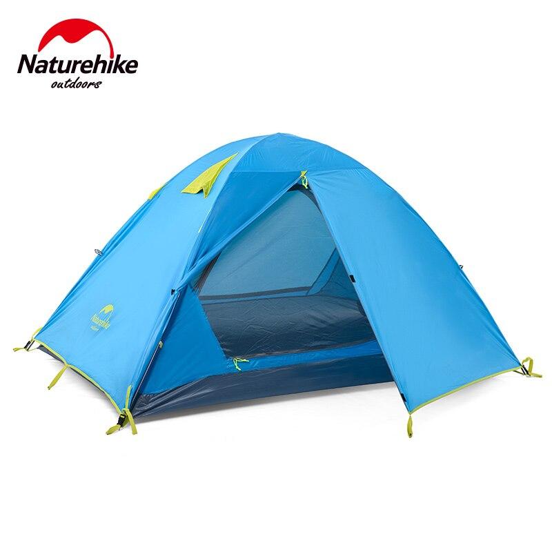 15% Naturehike Kit 3 Personne Tente Extérieure tente de camping 190 T Tissu Étanche NH16S00-S