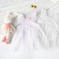 YEWUDIER Baby Girl Summer Clothes Cute Princess Dress Patchwork Mesh Newborn Baby Dresses Girl Birthday Ball Gown Tutu Dress Hot