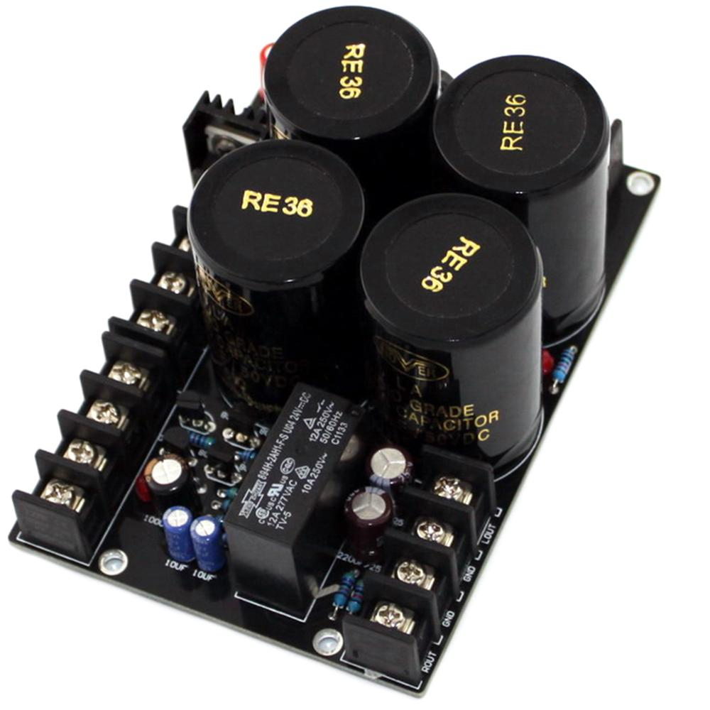 4x 10000uF/50V Filter Capacitor Rectifier + Speaker Protection Integrated Board YJ0009