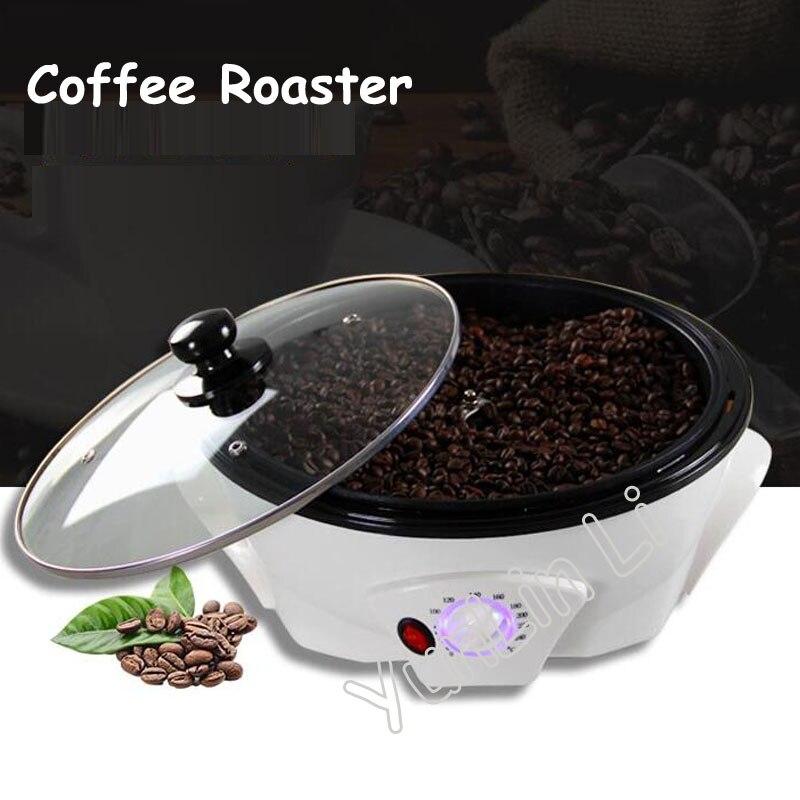 Бытовая Машина для выпечки кофе, жаровня, 220 В, прочная жаровня для кофейных зерен, для любителей кофе, SCR-301