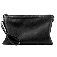 New Fanshion Wallet Men Pu Leather Business Hand Bag Purse Portfolio Large Capacity Multi Card Bit