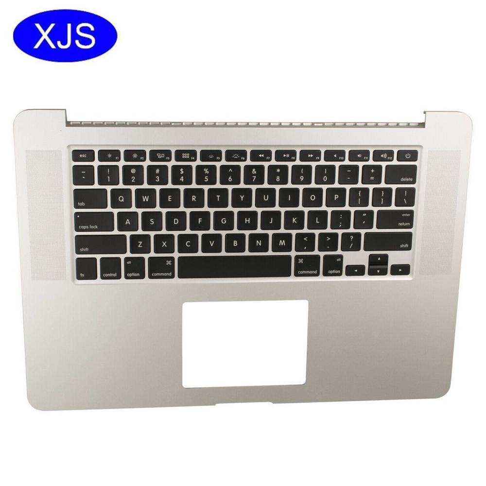 Original US Topcase With Keyboard For font b Macbook b font Pro Retina 15 A1398 Top