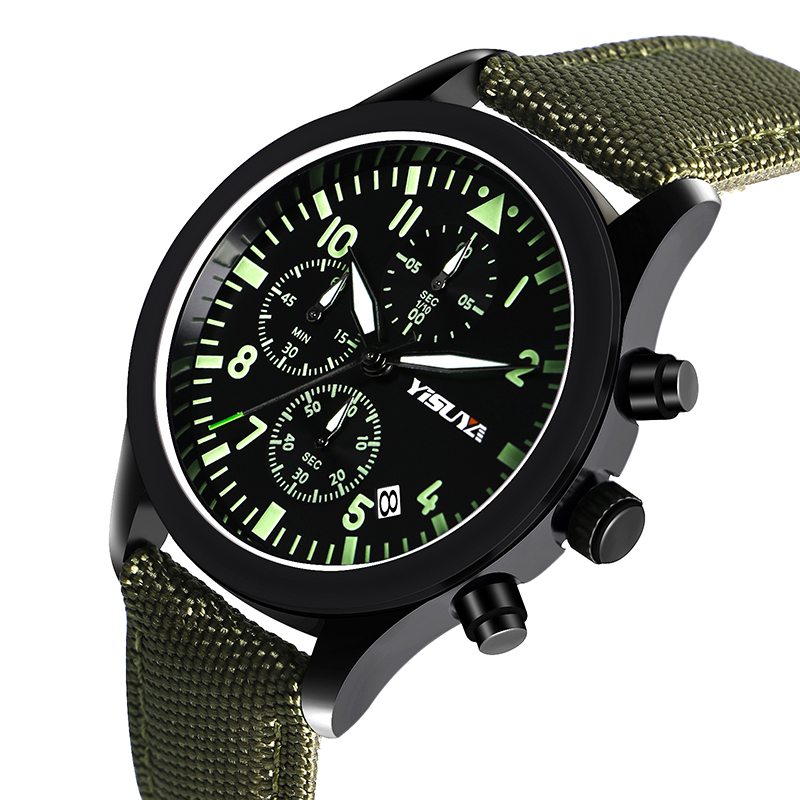 Mens Watch Army Sport Analog Day Date Quartz Calendar Pilot Stylish Male Chronograph Aviator relogio masculino superior xinew mens fashion silica sport date calendar chronograph analog quartz wrist watch relogio masculino waterproof sep 14