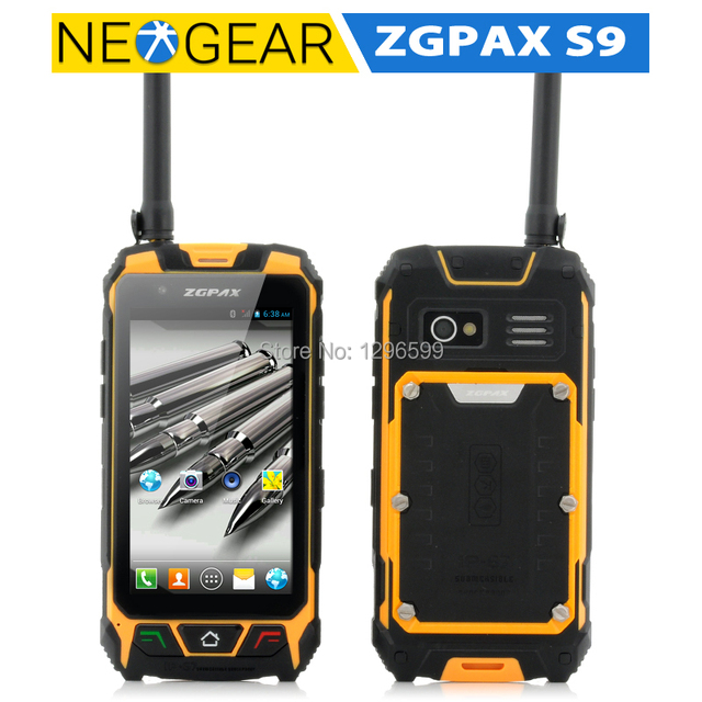 Original Zgpax S9 Rugged Android Phone 4 5 Inch Screen Gps Walkie Talkie