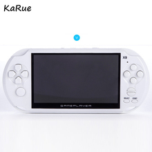 KaRue X9 Handheld Video Game console Player 5.0 I Screen Consoles Support TV Output With MP3 Movie Camera Multi-media