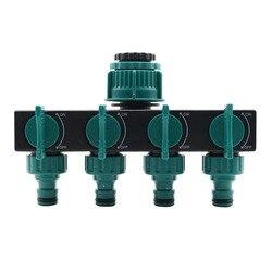 1PC 4-Way Hose Splitters 1
