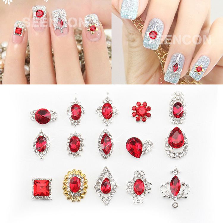 Nail Art Supplies Store: Aliexpress.com : Buy 10pcs New Year Nail Art Ariticle