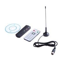 1 Set Numérique TV Tuner USB 2.0 Dongle Bâton TV DTS Récepteur RTL2832U + R820T DVB-T DTS + DAB + FM de Haute Qualité