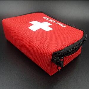 Image 2 - Gorący bubel apteczka Mini samochód apteczka na zewnątrz awaryjne Camping zestaw survivalowy torba medyczna domu
