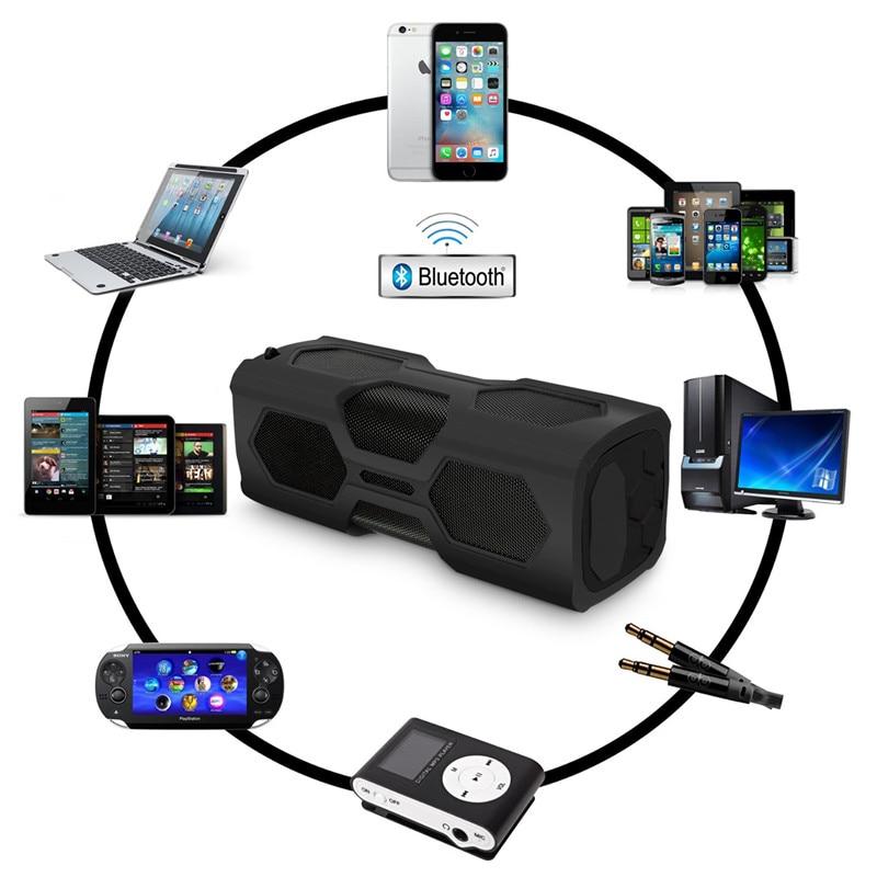 Dynamisch Leory 390a Nfc Wasserdichte Bluetooth Lautsprecher Drahtlose Tragbare Power Bank Hifi Lautsprecher Unterhaltungselektronik