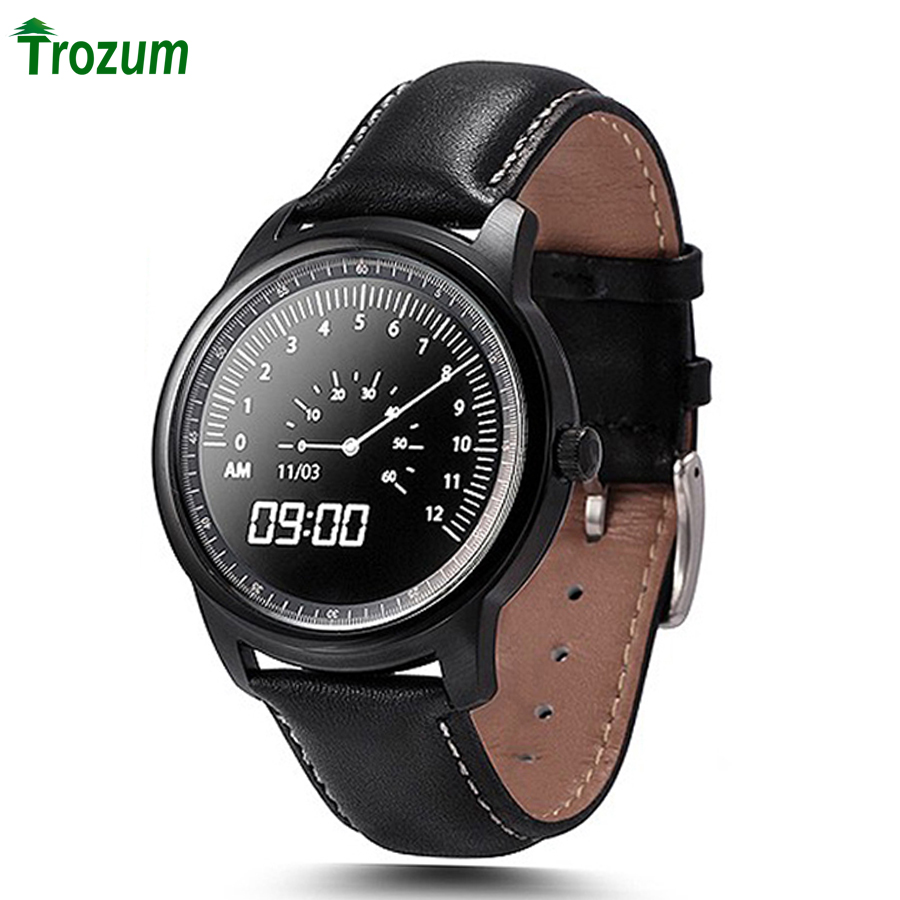 TROZUM DM365 Smart Watch Full HD IPS Screen Bluetooth SmartWatch MTK2502A-ARM7 Fitness Tracker App For iphone IOS Android Phone 2016 newest sport lady smart watch lem2 full ips screen bluetooth girl smartwatch fitness tracker app for ios android pk m8 lem1