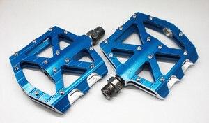 Image 3 - 古典的な SYUN LP 超軽量 DH MTB BMX breaing 合金プラットフォーム自転車ペダル