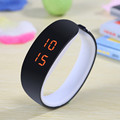 2016 LED Candy Color Silicone  Women Watches Rubber Touch Screen Digital Watches Bracelet I Casual Silicone WristWatches Gift