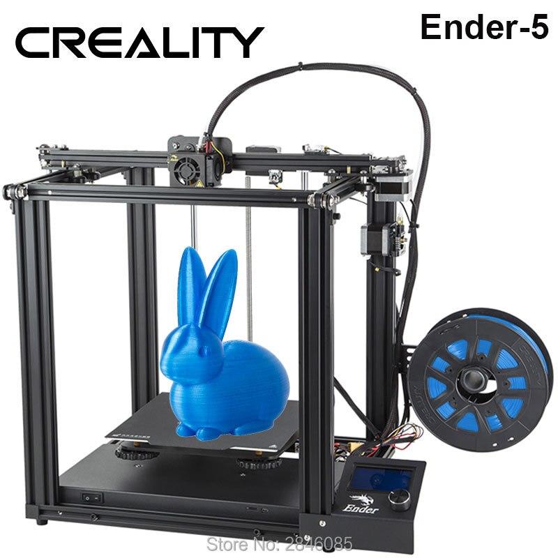 CREALITY 3D プリンタ Creality Ender 5 ランディと安定した電力、 V1.1.3 メインボード、磁気構築プレート、電源オフ再開  グループ上の パソコン & オフィス からの 3D プリンタ の中 1