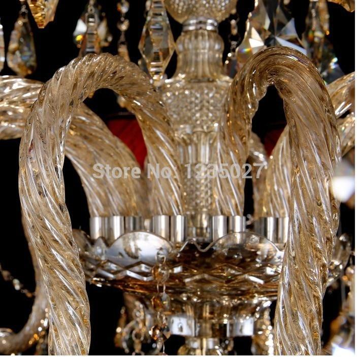 Hot Selling Champagne Factory direkte Moderne traditionel crystal - Indendørs belysning - Foto 4