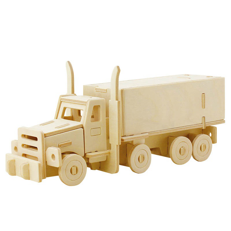 Robud Wooden Assembly Vehicles Diecasts & Toy