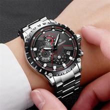 2018 WISHDOIT Watch Men Fashion Sport Quartz Clock Mens Watches Top Brand Luxury Full Steel Waterproof Wrist Watch Montre Homme цена и фото