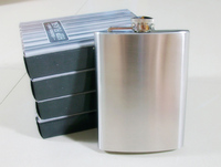 2pc Lot Portable 5oz Mini Stainless Steel Hip Flask Alcohol Flagon With Free Funnel
