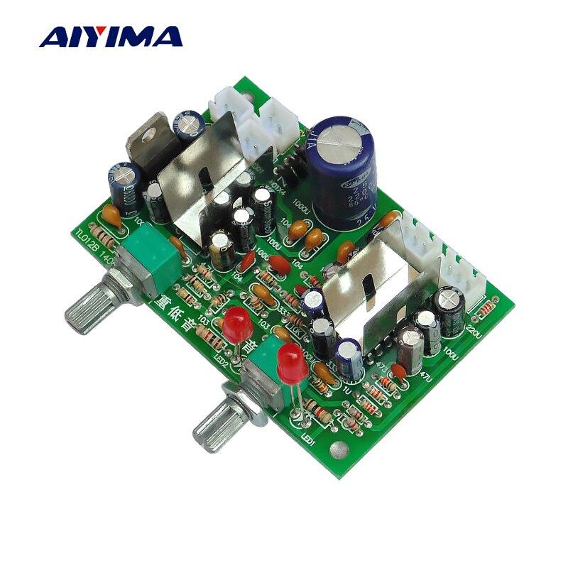 AIYIMA TEA2025B Audio Amplifier Board Amplificador 2.1 Channels Subwoofer Power Amplifiers 6W*6W+12W