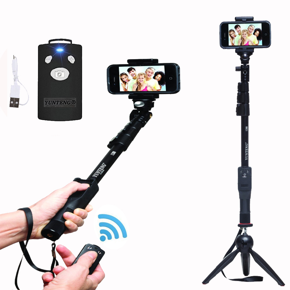 For Gopro Dslr Camera Ios Android Smart Phone Yunteng 1288 Bluetooth