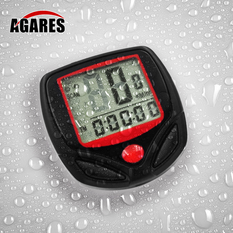 1 Set Bicycle Speedometer <font><b>Bike</b></font> Cycle Computer Wireless Cycling Computer Bicycle Speed <font><b>Bike</b></font> <font><b>Power</b></font> <font><b>Meter</b></font> Cyclocomputer SA-08 image