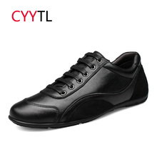 CYYTL/брендовая кожаная мужская обувь; повседневные зимние мужские кроссовки; удобные лоферы; мягкая модная обувь в деловом стиле; Zapatos de Hombre