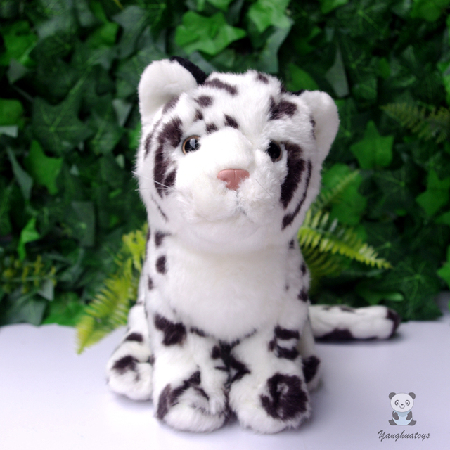Stuffed Animals Toy Snow Leopard Doll Toys Children Clouded Dolls
