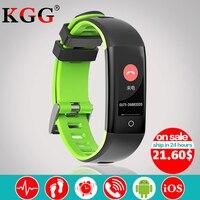 G16 TFT0.96 7-calowy Kolorowy Ekran Tętna Monitor Ciśnienia Krwi Inteligentny Bransoletka Bransoletka Krokomierz Sport Fitness dla IOS/Android