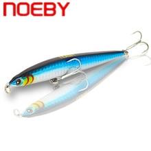 цена NOEBY Pencil Fishing Lure Hard Bait 125mm 21.5g Sinking Wobbler Isca Artificial Para Pesca Peche Leurre Salwater Fishing Tackle онлайн в 2017 году