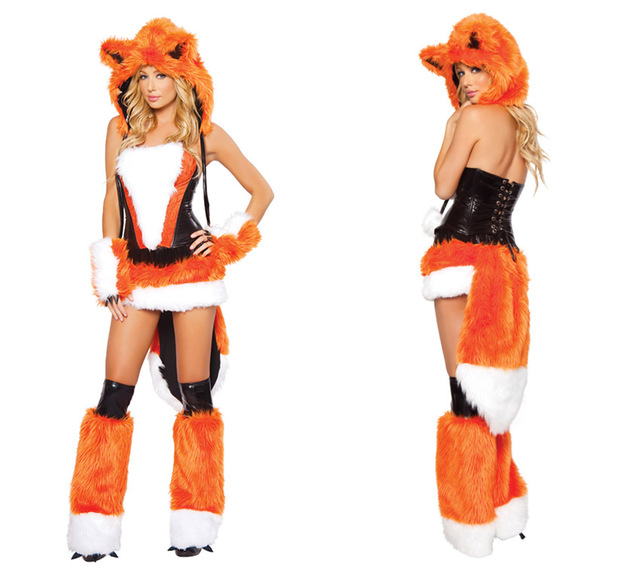 hot sale fox fanny cute halloween costume halloween costumes hot sexy fox costume dress sexy costumes