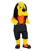Собака желтый Маскоты костюм персонажа из мультфильма Косплэй Маскоты продукты Бесплатная доставка
