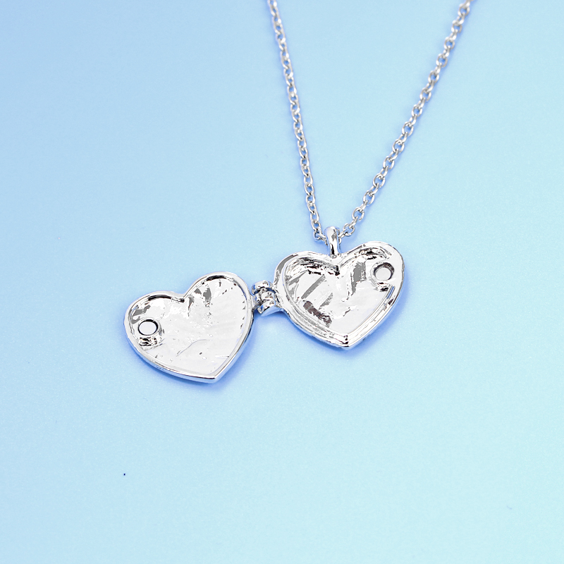 Matching Heart Friend Photo Picture Frame Locket BFF Best Friends ...