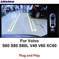 Liislee обращая Камера Интерфейс Резервное копирование оригинальный монитор обновление для Volvo S60 S80 S80L V40 V60 XC60 XC90