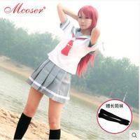 Anime Love Live Sunshine Japanese Anime Love Live Sunshine Cosplay Costume Takami Chika Girls Sailor Uniforms