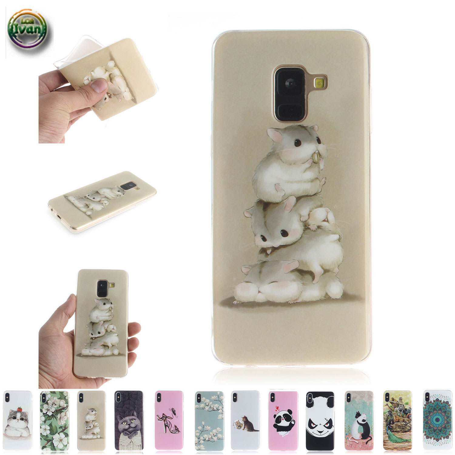 Case Suit For <font><b>Samsung</b></font> Galaxy A8 2018 SM-<font><b>A530F</b></font> SM-<font><b>A530F</b></font>/DS Case Phone <font><b>Cover</b></font> For Galaxy 8A SM <font><b>A530F</b></font> <font><b>A530F</b></font>/DS Silicon Damping Coque image