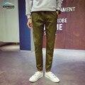 Más código de tamaño M-5XL 2017 la Primavera y El Otoño de tinta Japonesa camuflaje pantalones casuales Hombres pantalones Delgados pies venta caliente