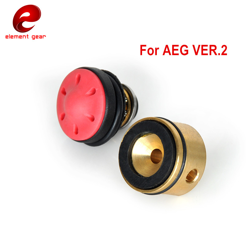 Image 2 - Element Gear Silent Bearing Piston Cylinder Head for Airsoft AEG Version 2/3 Ver.2/3 AK M4 M16 MP5 G3 M249 Gearboxes-in Paintball Accessories from Sports & Entertainment