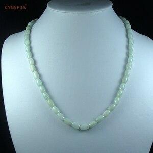 Certified Natural A Grade Burmese Jadeite Myanmar Emerald Jade Lucky Necklaces Lulutong Bead Wonderful Birthday Gifts On Sale
