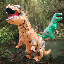 T Rex Costume Christmas Inflatable Dinosaur Carnival Purim Party Halloween Costumes For Women Men Jurassic World Cosplay