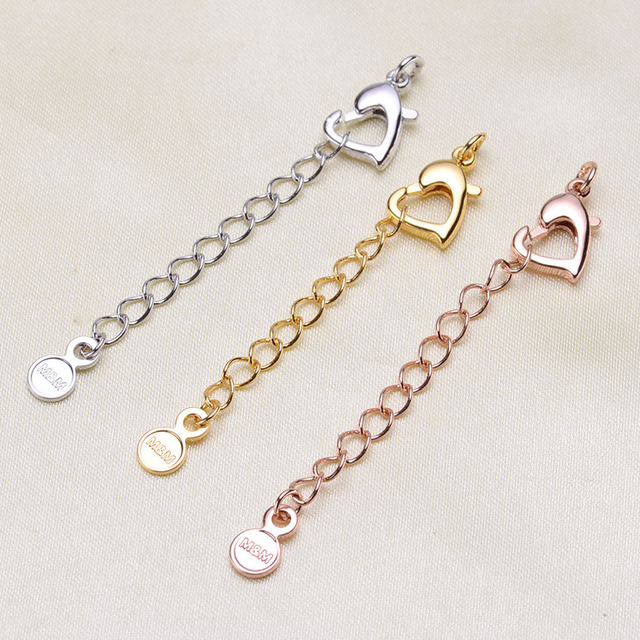 Alloy Bracelet Necklace Lobster Clasps Hooks Dia Connectors For Jewelry Making